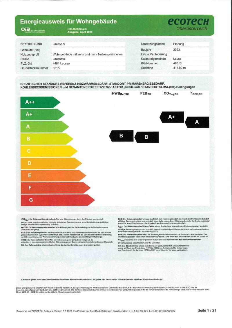 Immobilie von Styria Wohnbau in Lambach II - Whg. Nr. II/E/2 + TG 27, 4650 Lambach #1